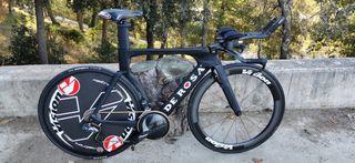 bicicleta Contra Reloj, TT, Cabra.