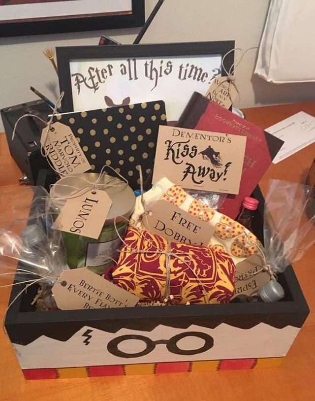 Harry Potter Christmas gift box