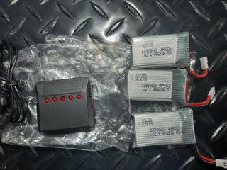 Baterias+Cargador para Dron