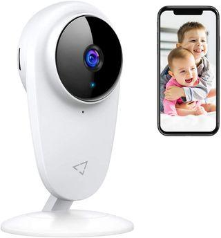 Vigila bebé Cámara WiFi con Detección de Sonido