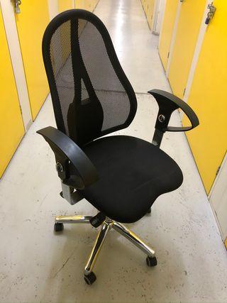 3 sillas oficina giratoria nivel commercial