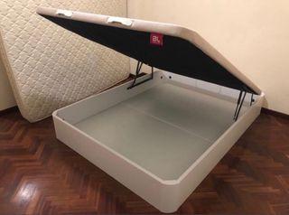 Canapé BEDLINE modelo FORTUNY 150x200cm