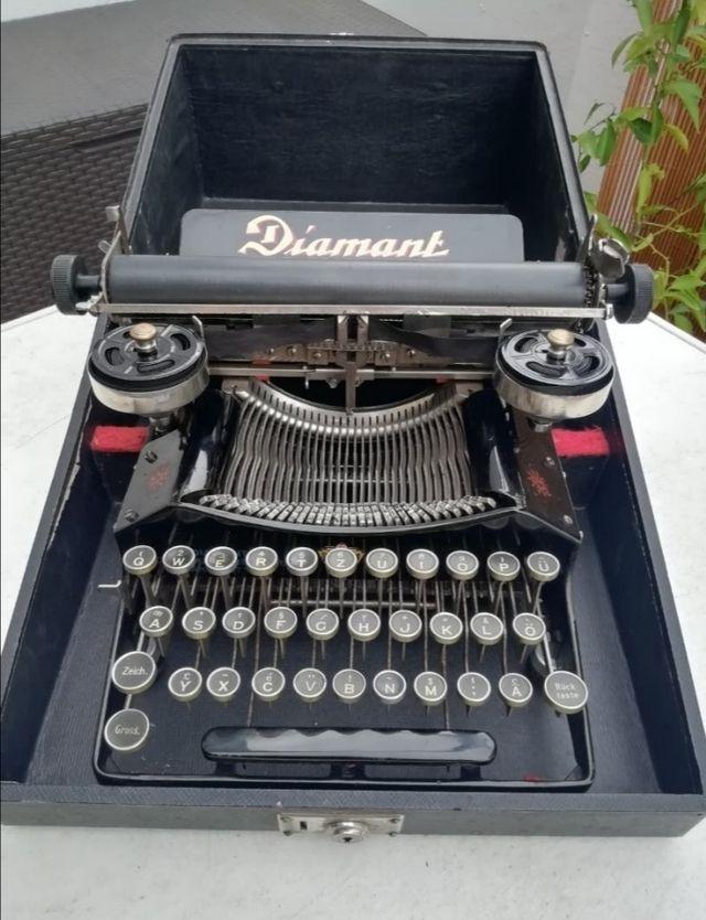 Máquina de escribir Diamant