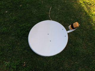 Antena parabólica satellite 60cm con LNB