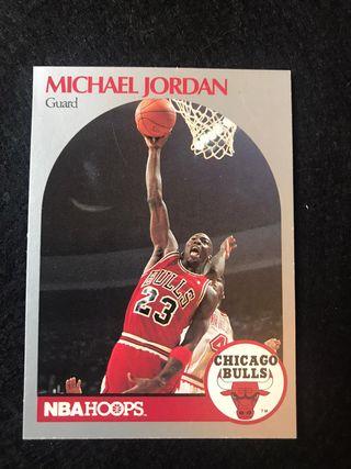 M. JORDAN - NBA - 90/91 HOOPS