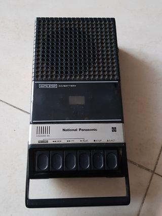 grabador de cassette vintage
