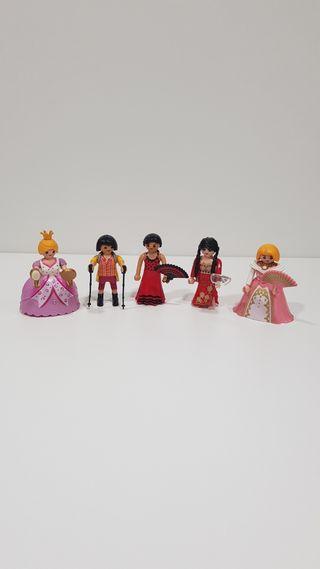 Playmobil muñecas variadas