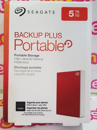 Disco duro wester digital backup plus portable 5tb