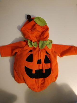 disfraz Halloween calabaza bebé
