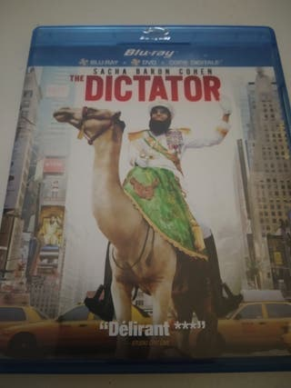 Bluray. The Dictator. Impecable