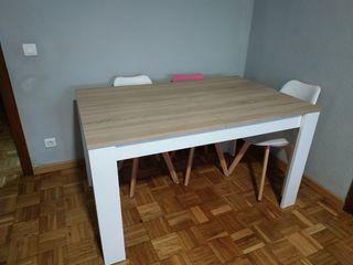 Mesa extensible completamente nueva.