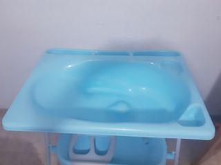 Bañera y cambiador