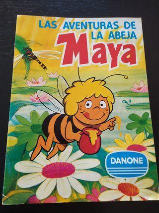 Album de cromos La abeja Maya