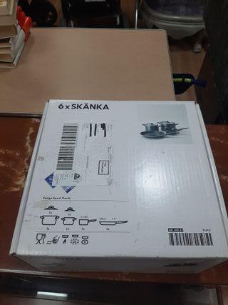 Set de Ollas y Sarten IKEA