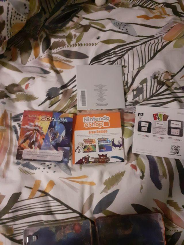 pokemon sol Edición especial (caja metalica)