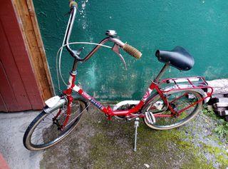 bicicleta antigua colección vintage años 70_80