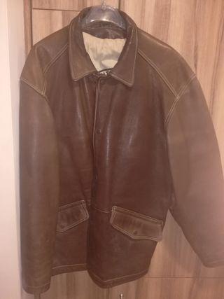 chaqueta piel hombre