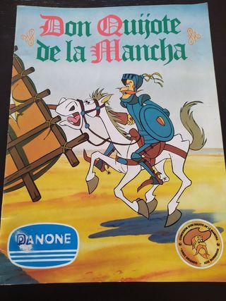 Album de cromos Don Quijote de la Mancha
