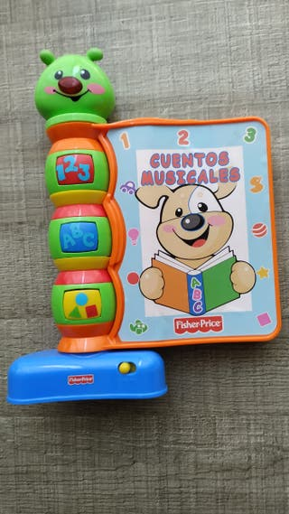 Libro musical bebé de Fisher Price