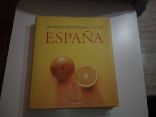 """libro """"Un paseo gastronómico por España"""""""