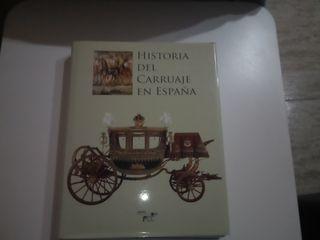 """libro""""Historia del carruaje en España"""""""
