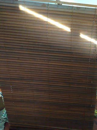 Persianas venecianas madera Ikea Lindmon