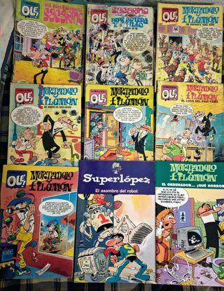 Comic Tebeo antiguos de Mortadelo y otros