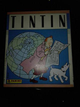 Album de cromos de Tintin
