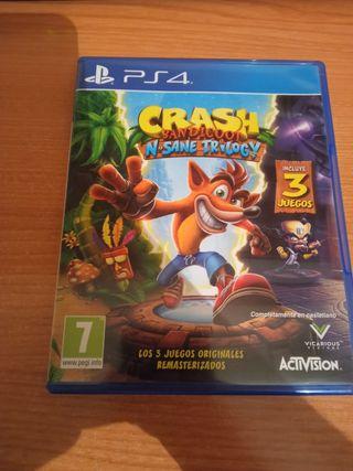 Crash Bandicoot Nsane Trilogy PS4 Play Station 4