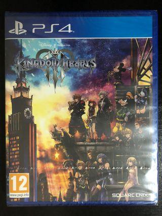 Kingdom Hearts 3 (NUEVO) PS4