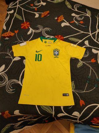 Camiseta Brasil Neymar Jr talla S