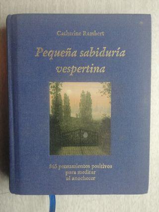 PEQUEÑA SABIDURÍA VESPERTINA (CATHERINE RAMBERT)