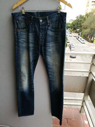 Pantalones LEVIs 501 vaqueros TALL 41 LARGO 42