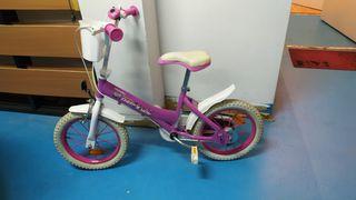 bicicleta de 4 a 6 años