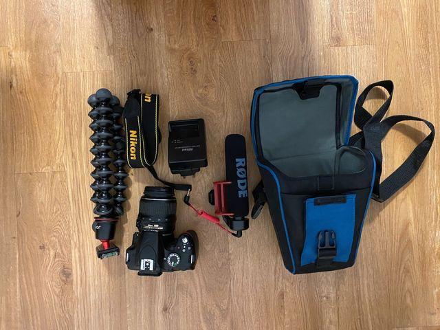 Full Nikon D3200 Rig