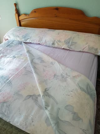 Sabana bajera ajustable cama 1,35 de segunda mano por 6 € en