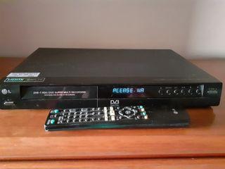 Disco grabador con TDT lg rht297h