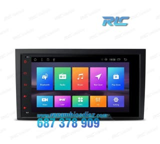 "RADIO GPS TÁCTIL 8"" 4K AUDI A4 SEAT EXEO ANDROID 8"