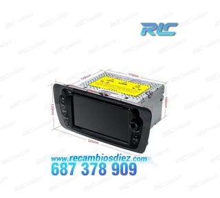 "RADIO GPS TÁCTIL 7"" CANBUS SEAT IBIZA 6J MK4 ANDRO"