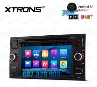 """RADIO GPS PANTALLA TÁCTIL 7"""" FORD"""