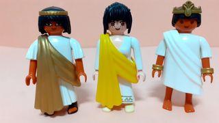 Playmobil EGIPCIOS Y ROMANA . UNIDAD 4'5€