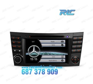 "RADIO GPS 7"" MERCEDES CL. E W211 / CLS W219 USB GP"