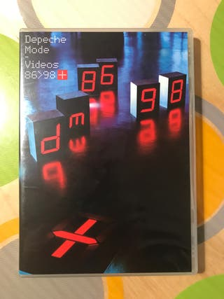 Depeche Mode. Videos 86-98. 2xdvd.