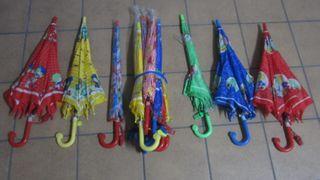 16 paraguas infantiles