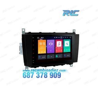 "RADIO DVD GPS 8"" MERCEDES BENZ W203 G W209 CLK AND"