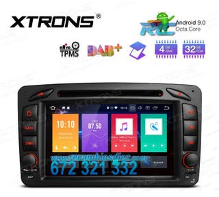 "RADIO GPS 7"" ANDROID 9.0 OCTA-CORE DVD MERCEDES-BE"
