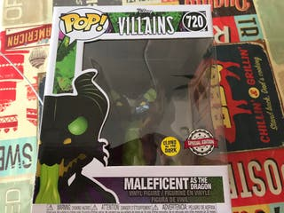 Funko Pop! Maleficent as the Dragon Disney Villain