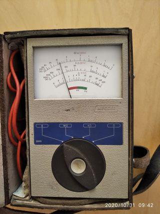 Tester Ohmímetro MEGGER