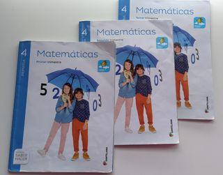 Libro matemáticas 4 de primaria