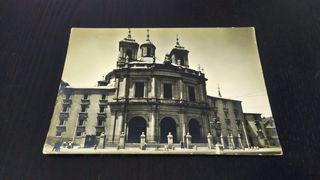 postal antigua de Madrid
